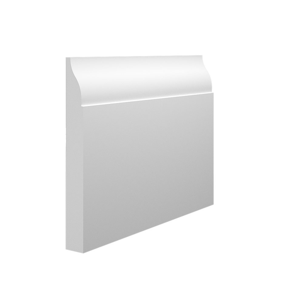 Lambs Tongue 2 MDF Skirting Board