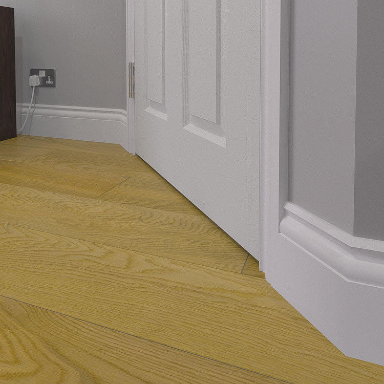 Ogee 1 MDF Skirting Board (Traditional Moulding)