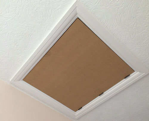 Architrave Used Around A Loft Hatch
