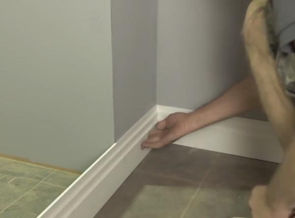 Check To See If The Skirting Board Fits Correctly And Make Adjustments If Necessary
