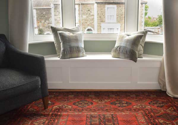 Creating A Window Seat Within Your Bay Window Area