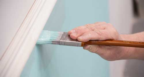 Cutting In When Painting A Wall