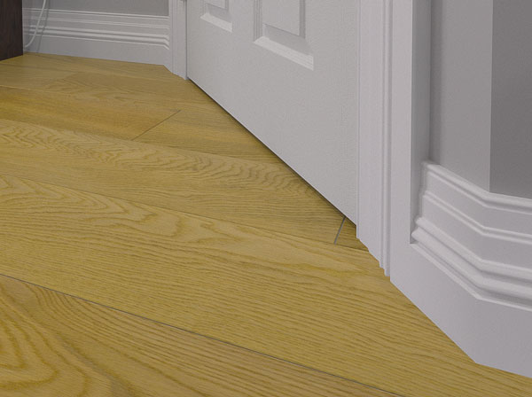 Detailed Monarch MDF Skirting Board Fitted
