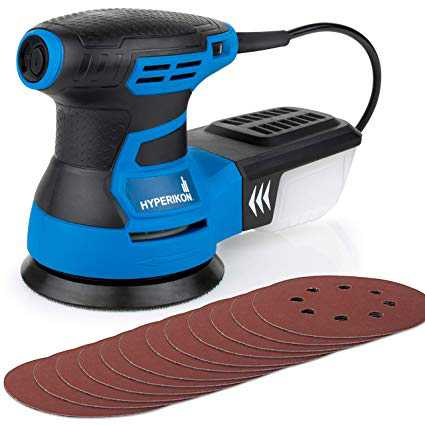 Electric Sander With Sanding Pads