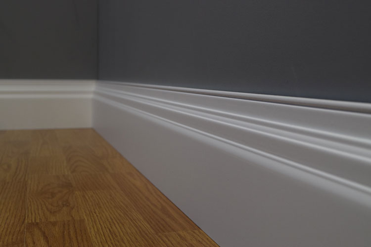 Imperial MDF Skirting Board Available In 4200mm HDF Lengths