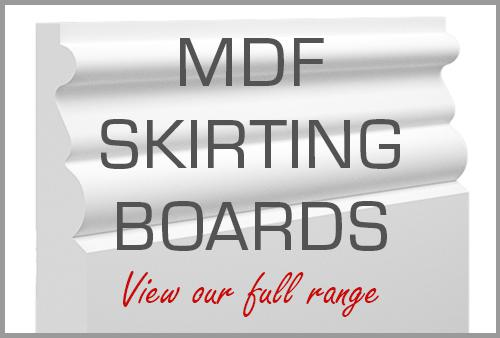 MDF Skirting Boards (MDF Mouldings)