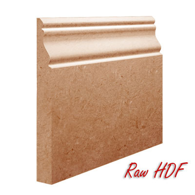 Unprimed Finish On Oscar MDF Skirting Board