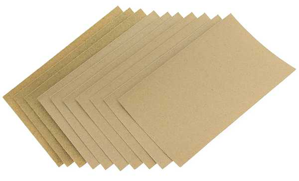 Sheets of Sandpaper