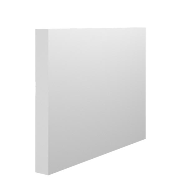 Square Edge MDF Skirting Board In 18mm Thickness By Skirting World