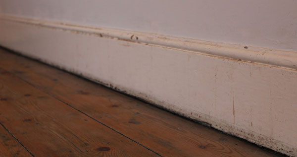 Tired Skirting Boards In Need Of Painting