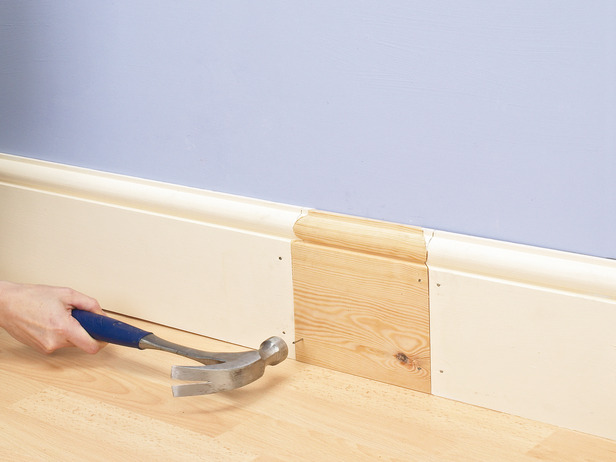 Using our bespoke skirting board matching service to match your existing design